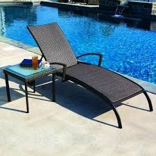 Chaise Lounge Covers Spring Haven Brown Wicker Patio Chaise Lounge Outdoor Chaise
