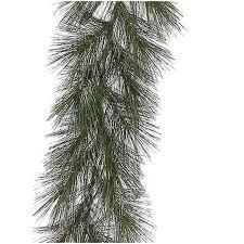 time unlit 12 rochester pine artificial garland