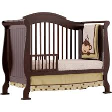 Storkcraft Convertible Crib Storkcraft Valentia 4 In 1 Convertible Crib Espresso Walmart