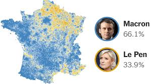 macron decisively defeats le pen in french presidential race the