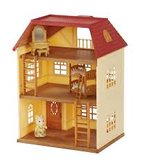 3 story house cedar terrace gift set with sister silk cat b 3 story house cedar terrace gift set with sister silk cat b sylvanian families europe