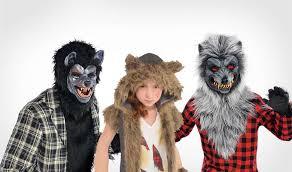 Fur Halloween Costumes Werewolf Costumes Kids U0026 Adults Werewolf Halloween Costumes