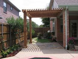 Attached Pergola Plans by Ideas Design For Attached Pergola 19881