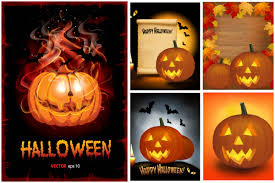 halloween pumpkin posters vector vector graphics blog