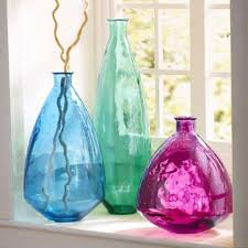 Home Decor Glass 17 Best Vases Images On Pinterest Recycled Glass Vases And Balloons