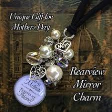 personalized rear view mirror charms memorial gift remembrance sympathy in loving memory