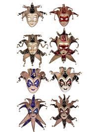 venetian jester mask deluxe jester blue masquerade mask