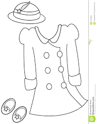 coloring pages clothes coloring winter clothes coloring pages