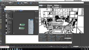 3ds max sketch render youtube