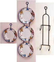 plate hanger iron simple plate holders plate racks plate