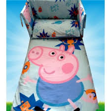 Peppa Pig Bed Set by Boys Bedding Sets Handmade Baby Beddings