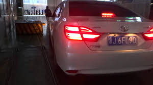 2015 toyota camry tail light modified led tail light for toyota camry 2014 2017 youtube