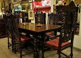 Gothic Dining Room Furniture 1920 30 English Jacobean Walnut Dining Set Decor Pinterest