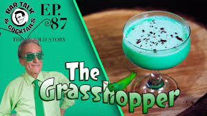 grasshopper cocktail how to make the grasshopper cocktail youtube