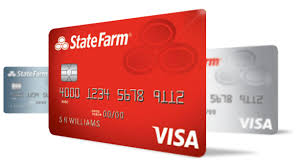 visa credit cards state farm bank