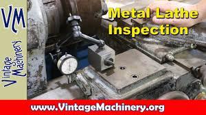 leblond lathe restoration part 1 machine insepection youtube