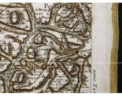 Detailed Map Of France by The Cassini Map Of France Life On La Lune