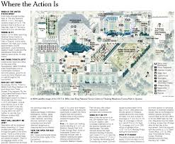 map us open the new york times sports image u s open map