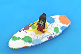 how to make a toy surfboard or windsurf board mum in the madhouse