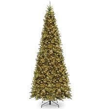 buy the 12 ft pre lit tiffany fir slim artificial christmas tree