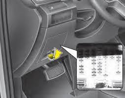 kia sorento fuse relay panel description fuses maintenance