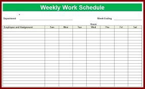 Excel Employee Schedule Template Employee Schedule Template Ebook