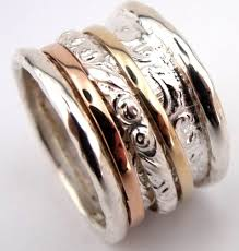 spinner rings womens spinner rings unique silver gold jewelry from israel