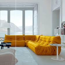 prix canape togo canapé modulable contemporain en polyester 4 places togo