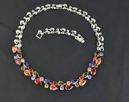 luxury necklace images Multicolor luxury necklace zircon mona lisa aaa cubic zirconia jpg