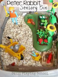 thanksgiving sensory bin peter rabbit sensory bin still playing