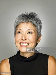 japanesse women with grey hair asian grey hair woman stock photos and pictures getty images