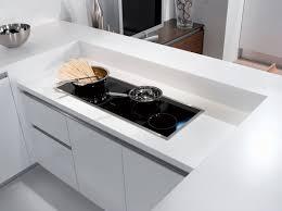 cuisine sans poignee modele de cuisine sans poignee idée de modèle de cuisine
