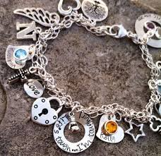 custom necklace charms crafted personalized sted sterling charm bracelet