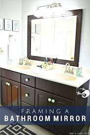 Large Framed Bathroom Mirror Fancy Bathroom Mirror Framed Bathroom Mirror Large Fancy Bathroom