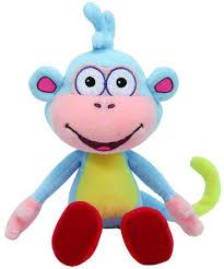 amazon com ty beanie baby boots dora u0027s monkey toys u0026 games
