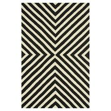 Black And White Outdoor Rug Ilda Modern Black White Graphic Outdoor Rug 3 6x5 6 Kathy