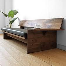 Wooden Living Room Sofa F  Pinteres - Straight line sofa designs