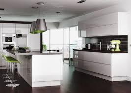high gloss white kitchen cabinets the stylish high gloss white kitchen cabinets