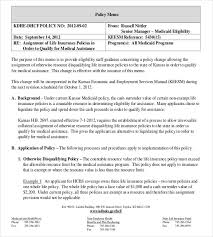 policy memo templates u2013 15 free word pdf documents download