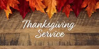 thanksgiving services bible baptist church