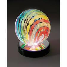 led light stand for crystal glass art led light stand for crystal glass art and jellyfish multicolored