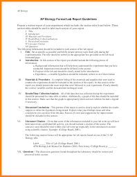 formal lab report template 6 biology lab reports exles target cashier