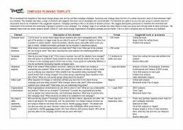proposal marketing campaign plan template marketing campaign