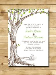 tree wedding invitations wedding invitations with trees designs agency