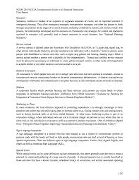 appendix c glossary of terms final research report a