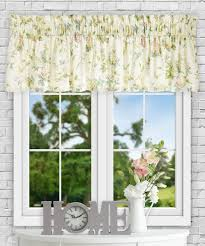 Crushed Sheer Voile Curtains by Floral Window Treatments Sale U2013 Ease Bedding With Style