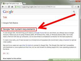 cara membuat akun google talk how to set up a google talk account 9 steps with pictures