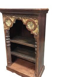 Arched Bookcase Antique Arched Frame Teak Patina Arch Bookshelf