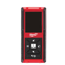 milwaukee 150 ft laser distance meter 48 22 9802 the home depot