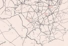 Nc Counties Map Northampton County U2013 Native American Roots